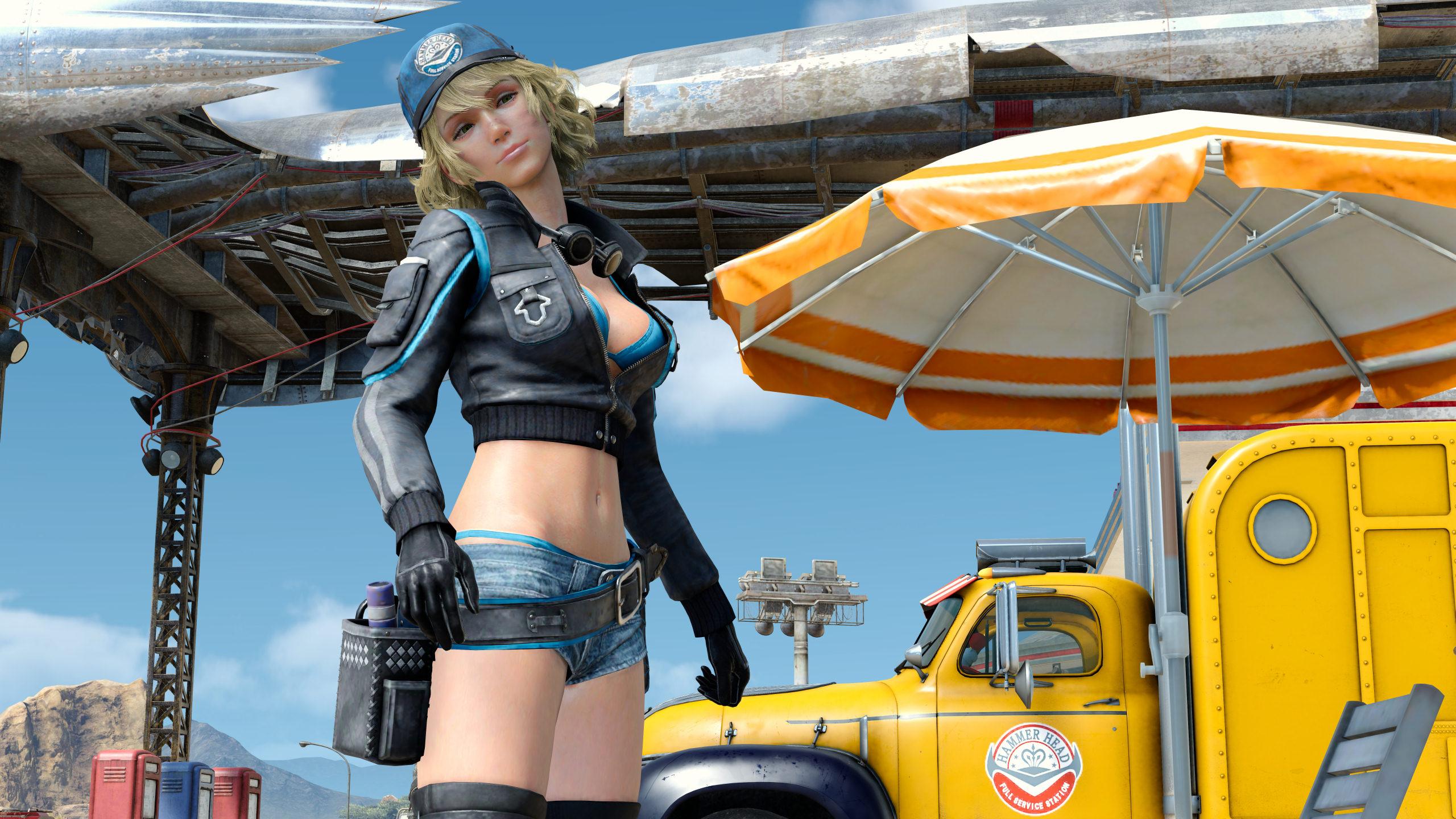 Moah Cindy Final Fantasy Xv