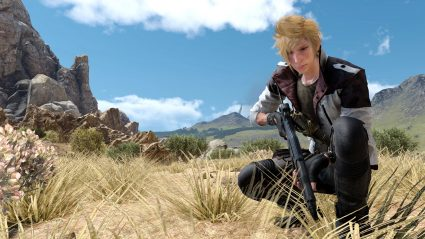 ffxv 4k screenshot Prompto