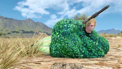 final fantasy xv ffxv mod outfit broccoli cup noodle ebony