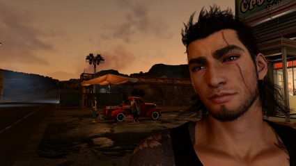 final fantasy xv 4k screenshot gladio ffxv