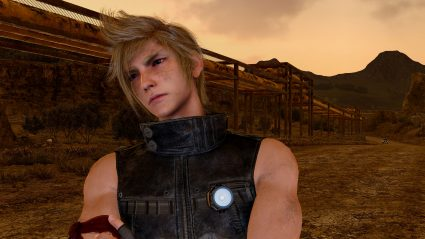 final fantasy xv 4k screenshot prompto ffxv
