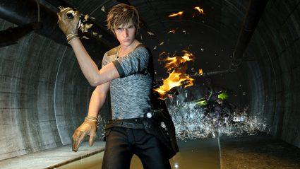 final fantasy xv wallpaper screenshot ignis