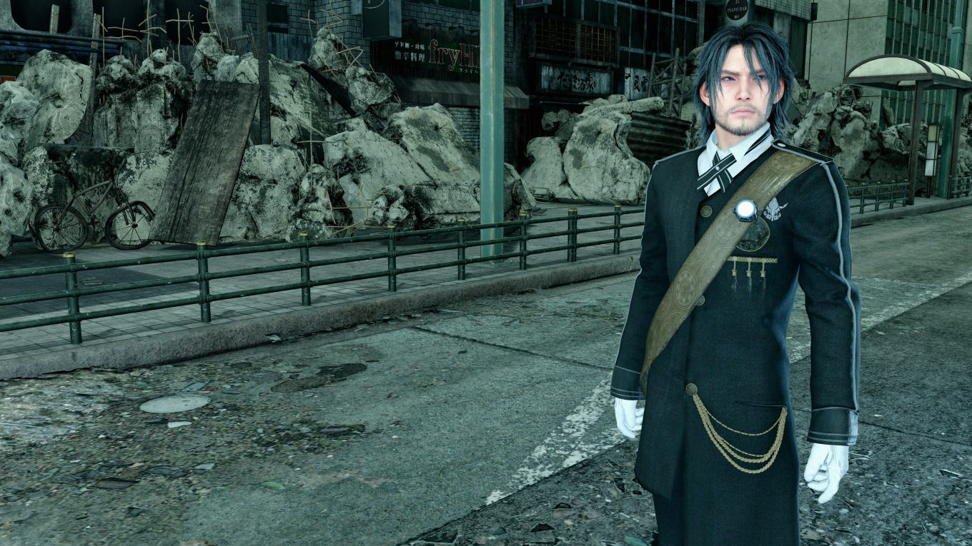 final fantasy xv noctis screenshot ffxv