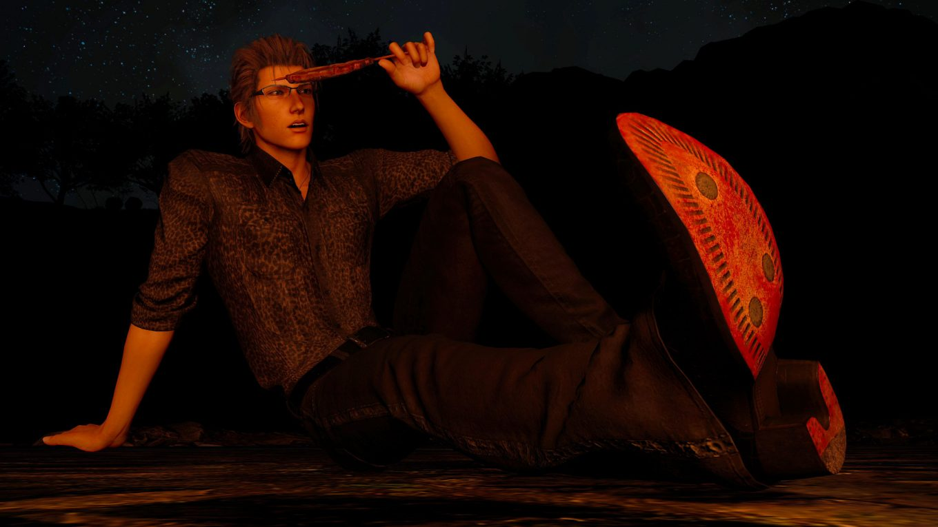 final fantasy xv ignis red soles