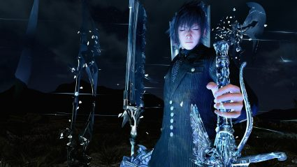 armiger unleashed final fantasy xv wallpaper ffxv